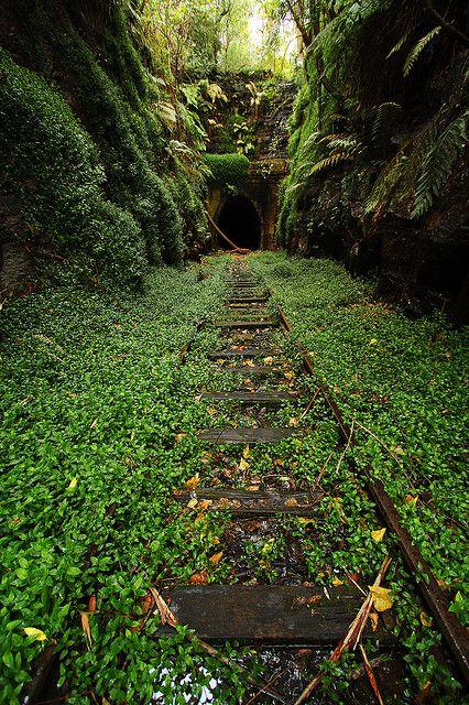 Ruta de Tren Subterraneo