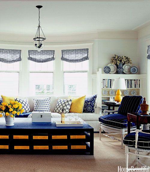 Feeling Monaco Blue   Living room white, Living rooms and ...
