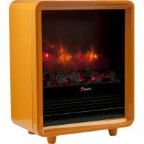 Crane Fireplace Electric Heater Orange EE-8075 O - Best Buy