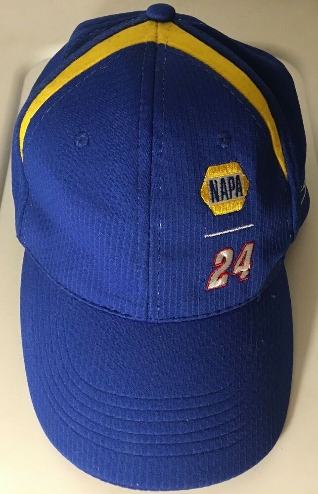 ee52da70d8ccb Nascar Napa Racing 24 Hat Blue Yellow Chase Elliott Hendrick Motorsports  fan Cap  Chase  HendrickMotorsports