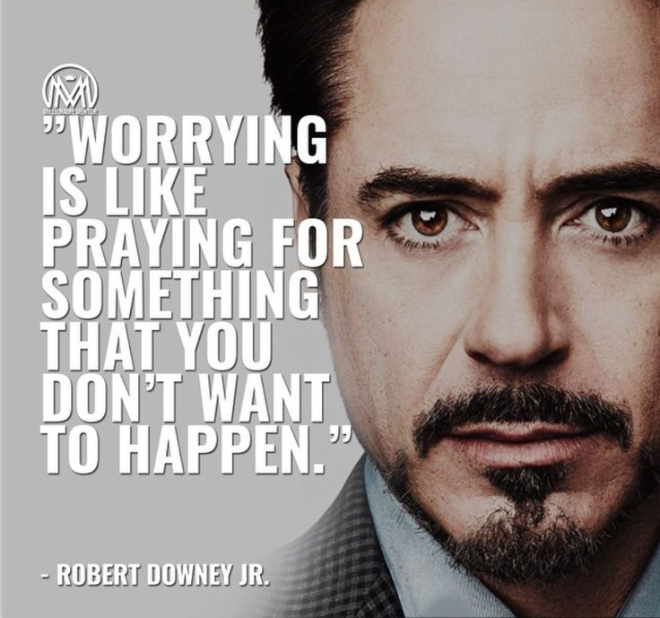 Ironman says to stop worrying.