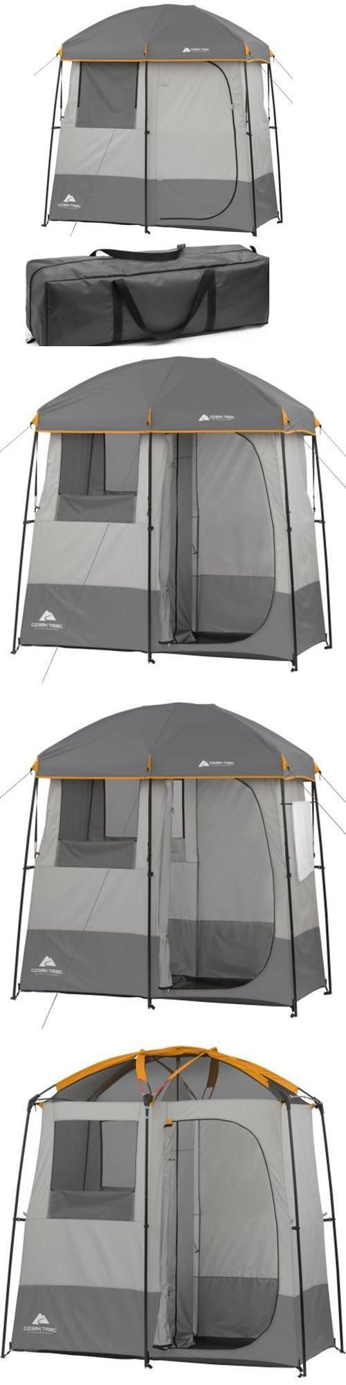 Tents 179010: Camping Shower Tent Outdoor Changing Room Privacy Pop Up Portable Toilet Tents -> BUY IT NOW ONLY: $79.95 on eBay! http://campingtentlover.com/best-camping-tent-review/ #carcampingprivacy
