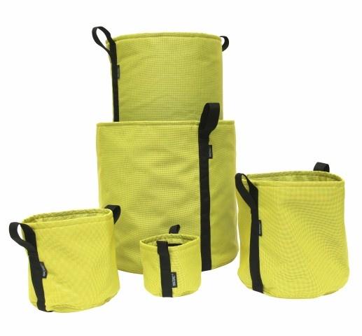 BACSAC® BATYLINE® plantenzakken in de kleur Avocado - Geelgroen, verkrijgbaar in de maten 3, 10, 25, 50 & 100 liter potten