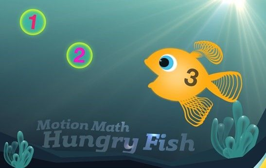 Motion Math Hungry Fish app is a fun and engaging educational game that helps kids better conceptualize mathematics. With a simple touchscreen gameplay and in-app rewards, students will love learning addition, subtraction and negative numbers! Check out this video to learn more: http://aka.ms/Fqug4w