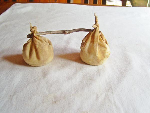 Alforjas de tres nudos