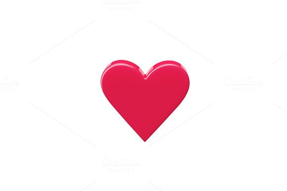 Heart Shape Icon by vladut'shop on @creativemarket