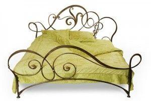 Кованая кровать №164