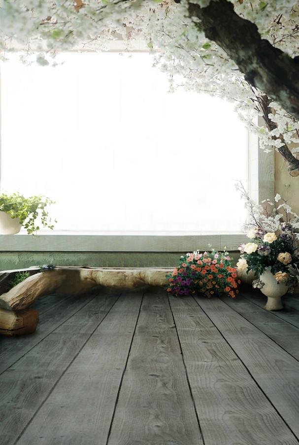 Фотографии Фонов Ностальгические Деревянные Полы Цветы Фон Фотографии Lk4262