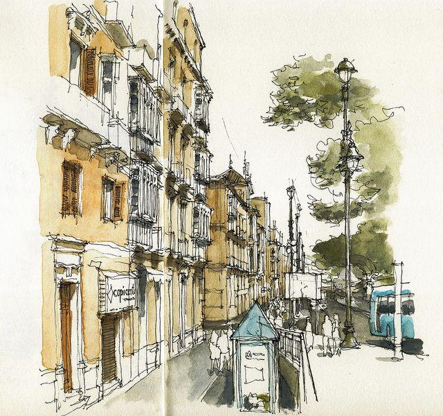 málaga, alameda principal by luis ruiz, via flickr