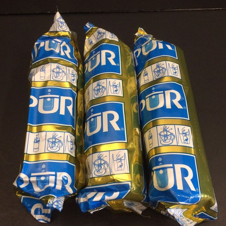 Genuine PUR Water Filter Replacement Lot of 3 Pitcher Sealed Gold Blue CRF950 #PUR