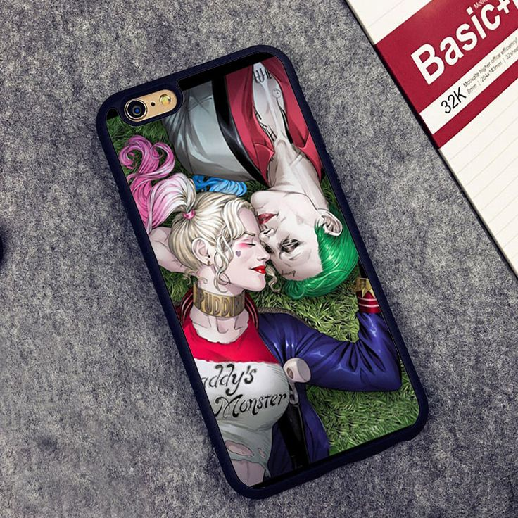 The Joker & Harley Quinn Love Printed Soft Rubber Skin Phone Case For iPhone 6 6S Plus 5 5S 5C SE 4 4S     Tag a friend who would love this!     FREE Shipping Worldwide     Buy one here---> http://www.worldofharley.com/suicide-squad-the-joker-harley-quinn-love-printed-soft-rubber-skin-phone-case-for-iphone-6-6s-plus-5-5s-5c-se-4-4s-back-cover/