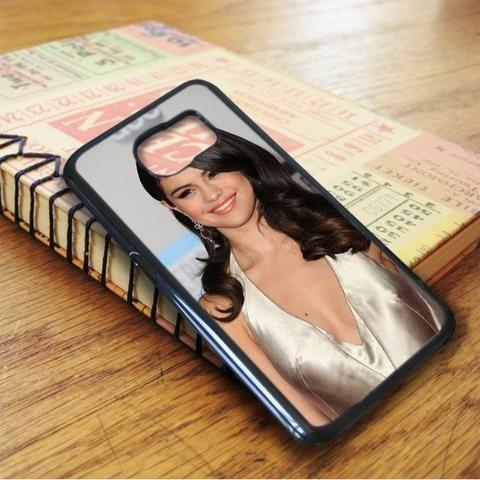 Selena Gomez Hair Highlights Samsung Galaxy S7 Edge Case