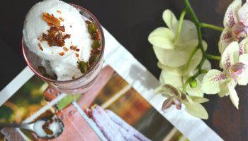 Most delicious Summer desert Coconut Sorbet