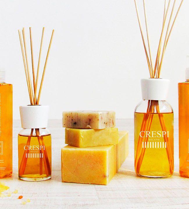 MADE IN ITALY  Desde Milano nos llega la exclusiva firma Crespi Milano, especializada en convertir aceites esenciales naturales en delicados perfumes para nuestra casa, armario, coche, etc. Crespi Milano | Ventas en Westwing