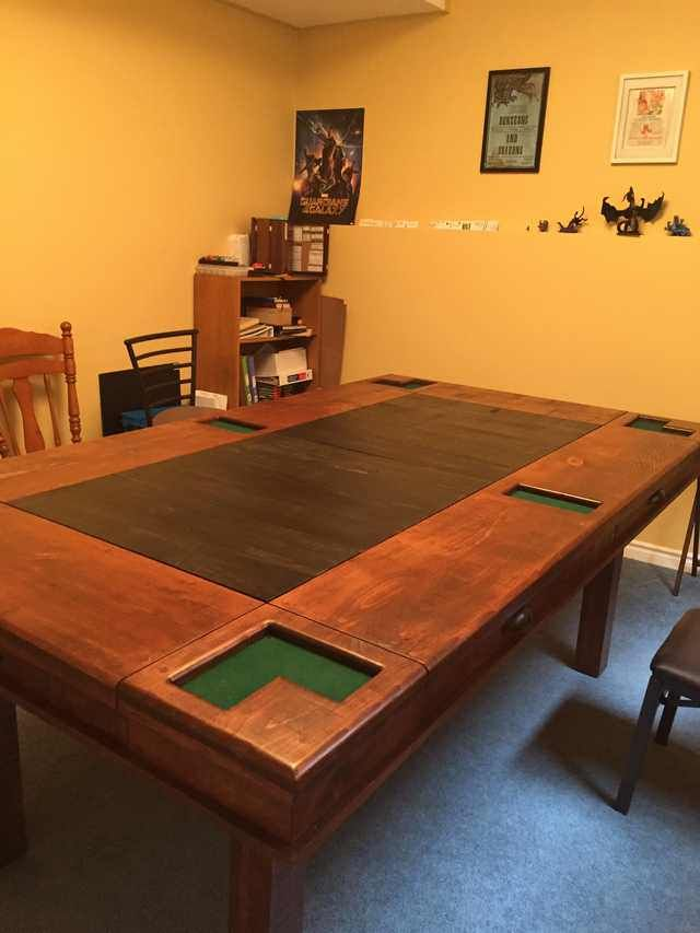 My Custom Made Gaming Table Arrived Yesterday Oc Table Games