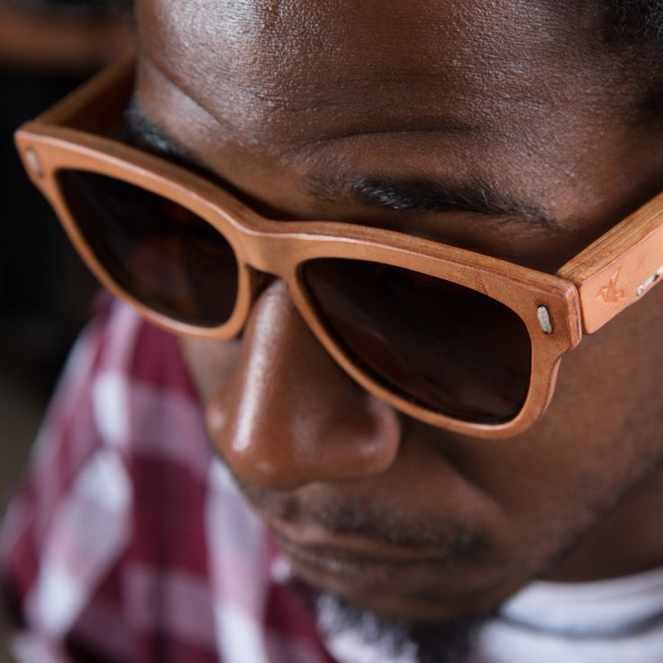 all leather burnside frames from the photo shoot only at jbird collective leathercraft