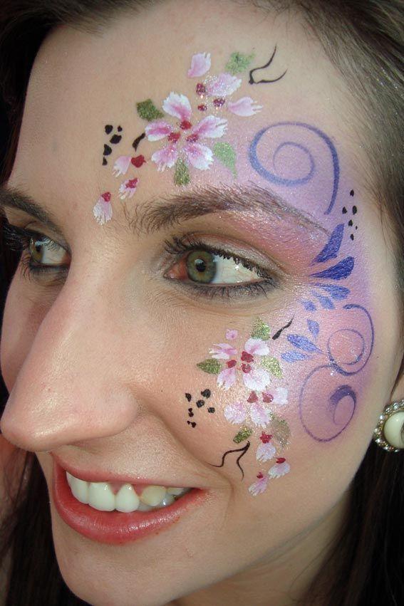 childrens face painting flower - Google zoeken