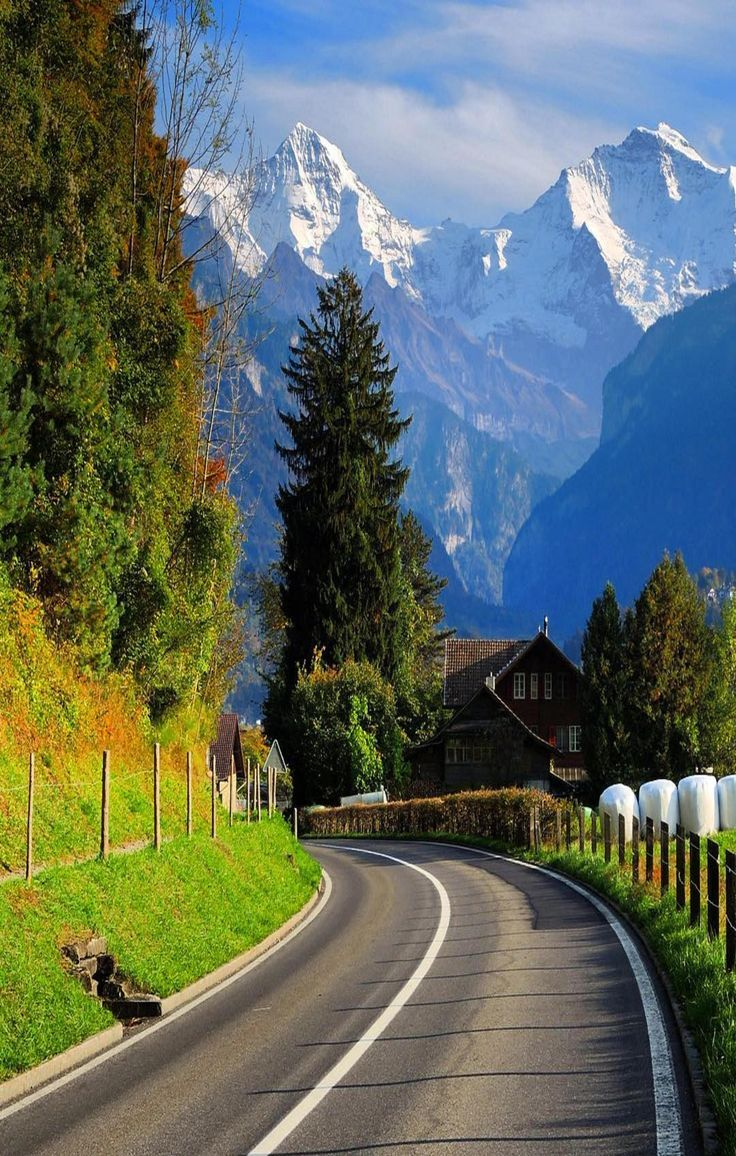 Mountain Love Beautiful Roads Beautiful Landscapes Nature Pictures