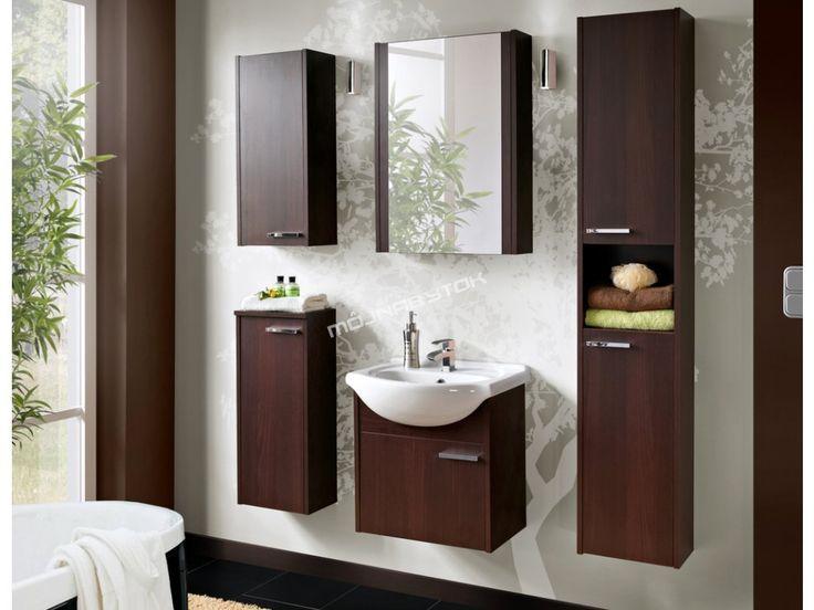 Ohromujúca kúpeľňová zostava NEW YORK v obľúbenom tmavom prevedení wenge.