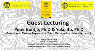 ILUNI OT UI: Praktik Okupasi Terapi di Jepang