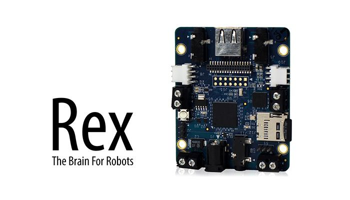 ARM-Powered Rex Robot Controller Board - The Rex robot controller board has been designed by Alphalem based in San Mateo, California and takes the form of a single board computer which is small enough to sit in the palm of your hand. The Rex robot board has been designed to provide developers with a high-level control over microcontrollers, sensors, and motor drivers.   Geeky Gadgets