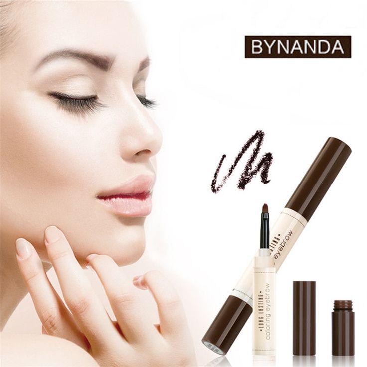 0.89$  Know more - 1pcs BY NANDA Professional Makeup Eyebrow ye Cream Pencil Long Lasting Waterproof Cosmetic Eye Liner Brush Beauty Tools Brush    #bestbuy