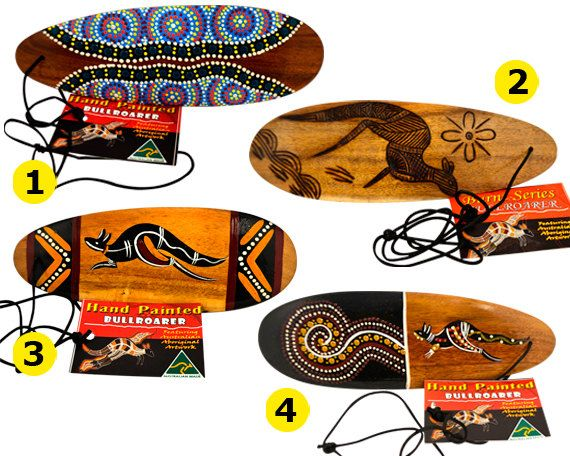 Australian Aboriginal Hand Painted Authentic by AboriginalOzArt It was used by Aboriginal people to send message over large areas to neighboring tribes.