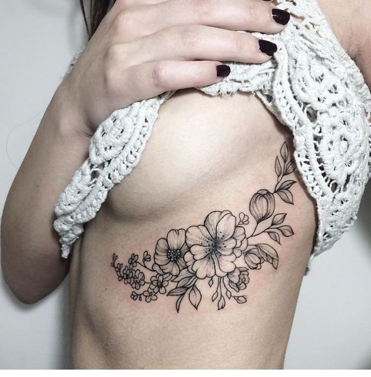 13 Best Under Breast Tattoo Images On Pinterest