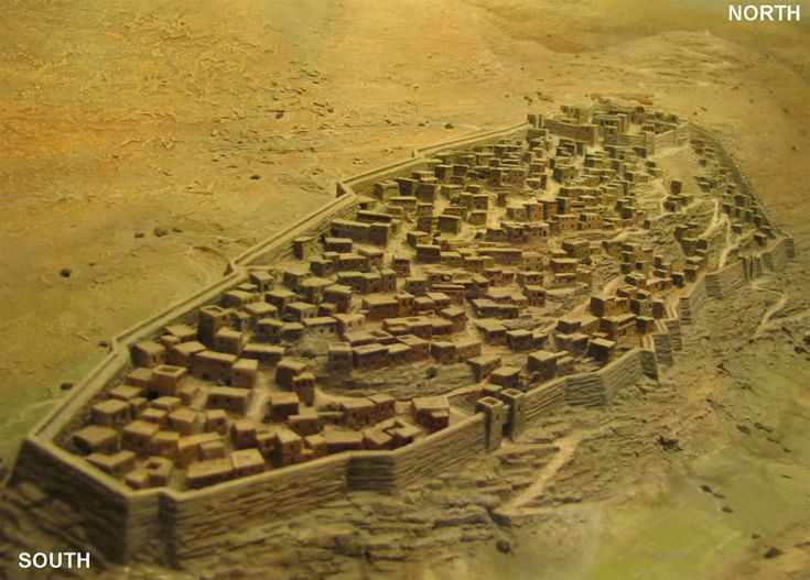 The City Of David Or Jerusalem Around 1000 Bc The Ophel