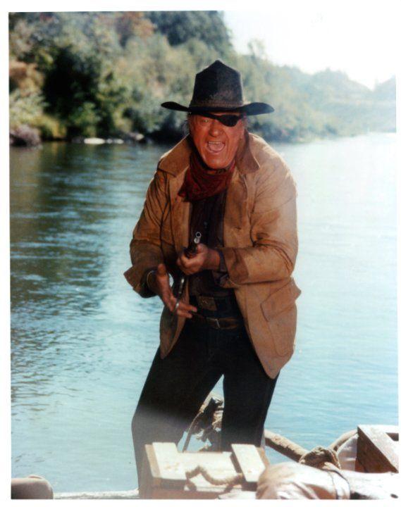 Still of John Wayne in True Grit (1969)