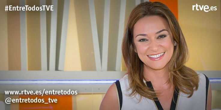 Toñi Moreno se pone al frente, una tarde más, de @entretodos_tve http://www.rtve.es/television/entre-todos/directo/ … #EntreTodosTVE pic.twitter.com/ET2KNOImbU