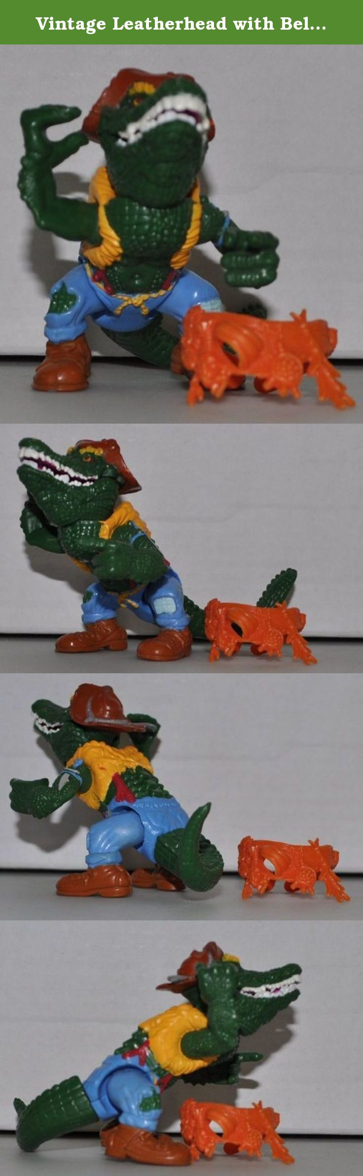Vintage Leatherhead with Belt (1989) - Action Figure - Playmates - TMNT - Teenage Mutant Ninja Turtles Collectible Figure - Loose Out of Package & Print (OOP). Used, Tmnt Leatherhead action figure, No box no weapons! Figure+Belt only ok.