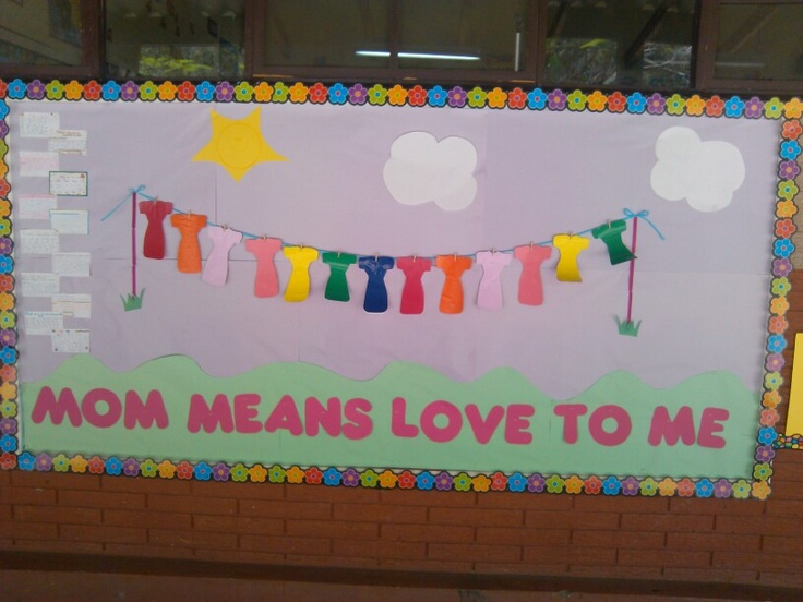 Mother S Day Classroom Decoration Ideas : Mother s day bulletin board classroom ideas pinterest