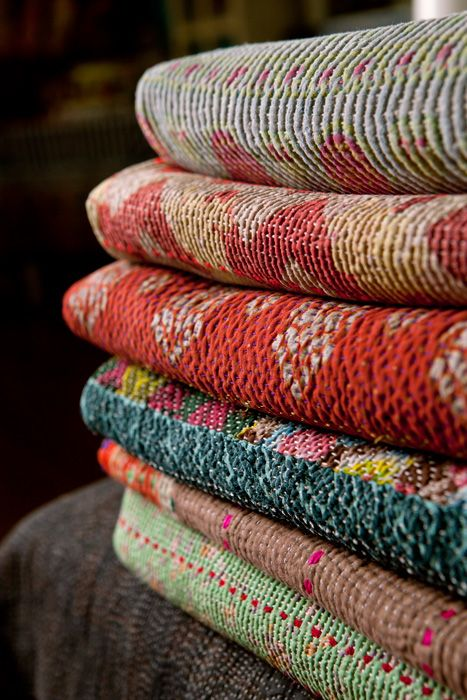 One of a kind Vintage Quilts