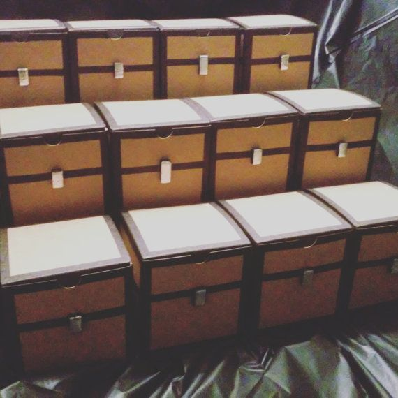 Minecraft Chest Party Favor by ErusInvolo on Etsy