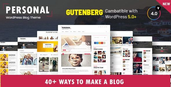 Personal Best Blog Cv And Video Wordpress Theme Stylelib Blog Themes Wordpress Magazine Theme Wordpress Blog Templates Wordpress