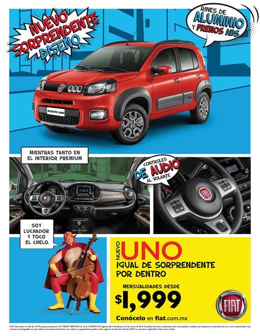 MADE México crea para el Nuevo Fiat Uno