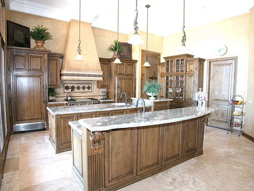 Tuscan-style Kitchens | Old World Style Kitchens And Old World Charm — Hacienda Home Style ...
