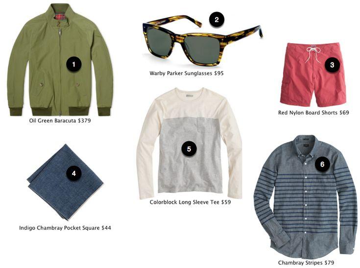 Shop Up:  Men's Spring Fashion 2015