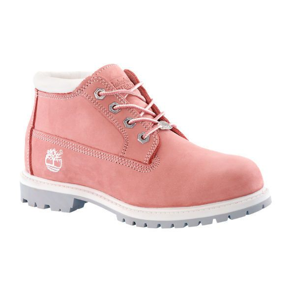 Timberland | Women's Nellie Chukka Double Waterproof Boots ($130) ❤ liked on Polyvore featuring shoes, boots, water proof shoes, chukka boots, timberland shoes, waterproof footwear and timberland boots