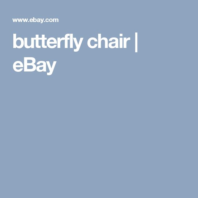 butterfly chair   eBay