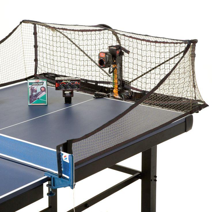 The Robo-Pong ping-pong robot revolutionizes the table tennis world!