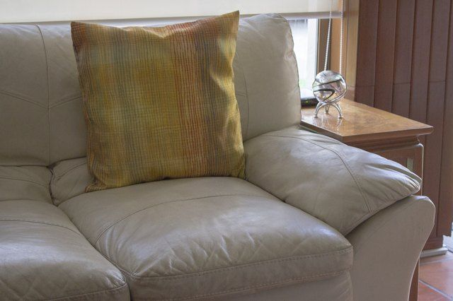 How To Keep My Pillows From Slipping Off My Leather Sofa Hunker Leather Sofa Pillows Leather Sectional Sofas