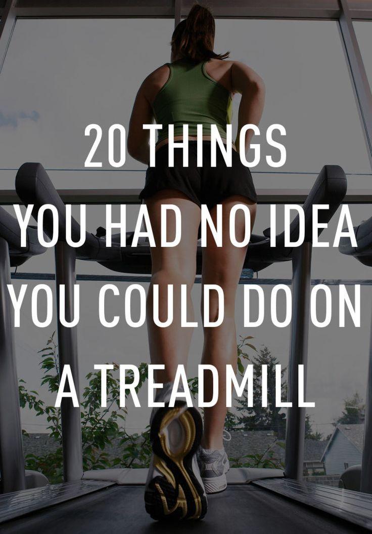 Because anything beats running.