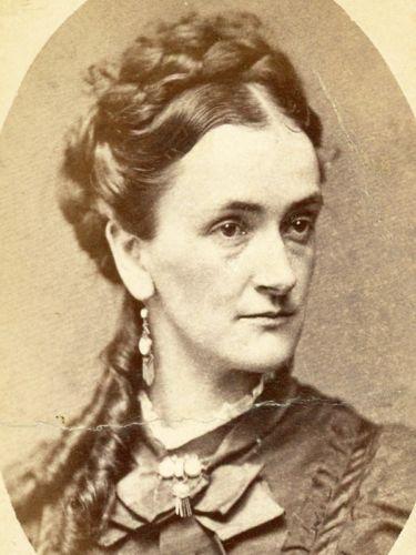 TWO-CDVs-CIVIL-WAR-amp-1870s-ELIZA-THOMPSON-CHAPMAN-WIFE-OF-DR-CHAPMAN