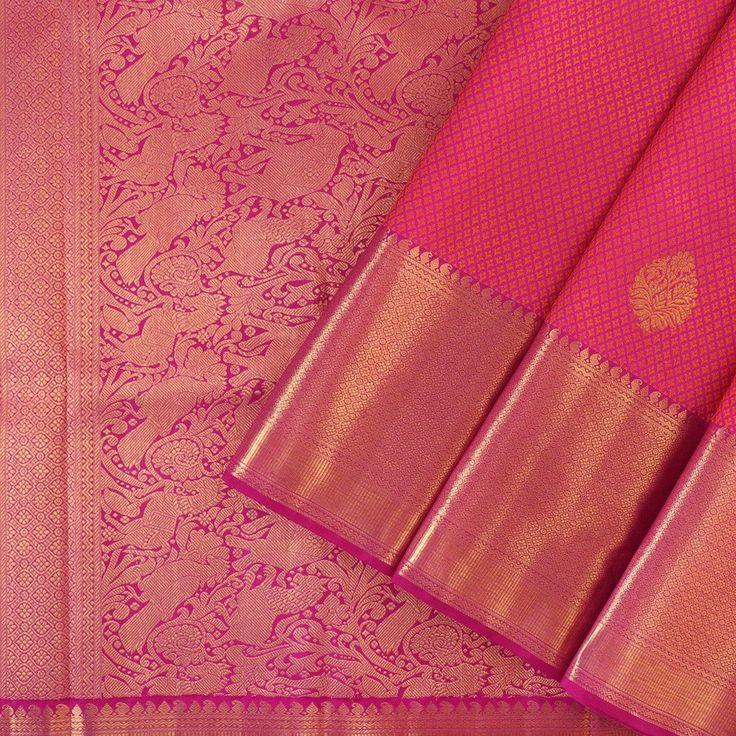 Kanakavalli Kanjivaram Silk Sari 100-01-28009 - Cover View