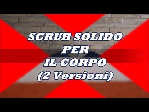 Video Tutorial Ricetta Cosmetica Scrub Solido per il Corpo 2 versioni Scrub Corpo al Cocco Scrub Corpo al Mango #scrubcorpofaidate https://youtu.be/N7CRwtq6x_s