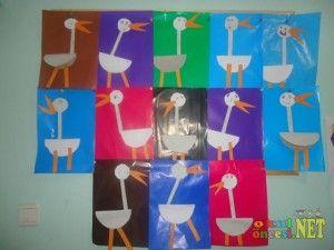 paper stork craft