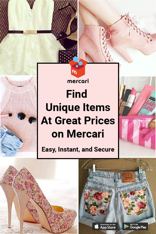 Buy and sell unique items in minutes on Mercari 100% Free for sellers