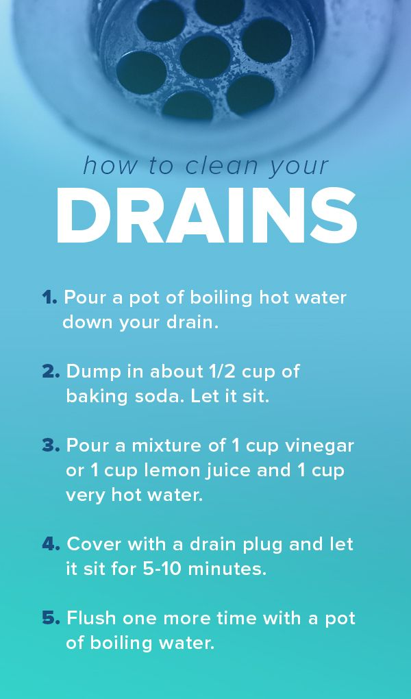 Follow this checklist and tips to unclog and clean your drains. It works for bathtubs, sinks and showers.